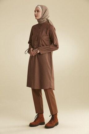 Tuğba Kadın Kahverengi Tunik
