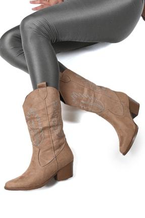 Sapin Kadın Kahverengi Western ve Kovboy Çizme