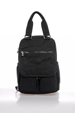 Smart Bags Smb1174-0001 Siyah Kadın Sırt Çantası Smbk1174
