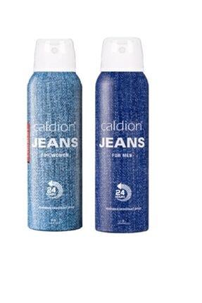 Caldion Jeans Kadın 150 ml Deo + Jean Erkek 150 ml Deo