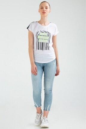 Speedlife Kadın Beyaz Victor T-Shirt