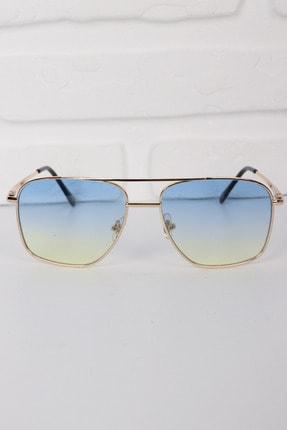 Della Pianto Unisex Mavi Güneş Gözlüğü