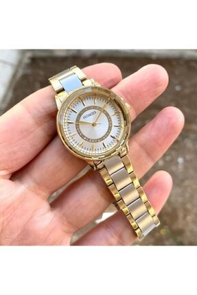 Homies Kadın Gold Gümüş Kol Saati