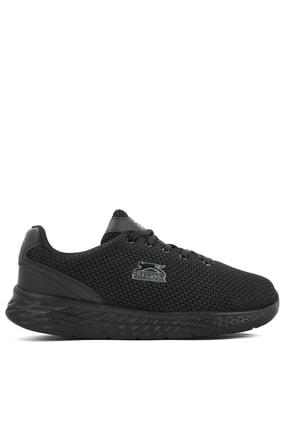 Slazenger INDIAN Sneaker Kadın Ayakkabı Siyah / Siyah SA11RK125