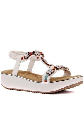 Guja Beyaz Renk Kadın Sandalet 20y237-11