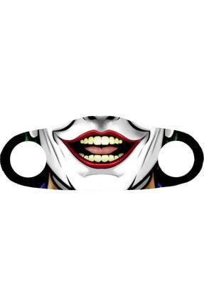 ANGELINO Moda Maske Joker Baskı No 23 Yıkanabilir Yetişkin Yüz Maskesi