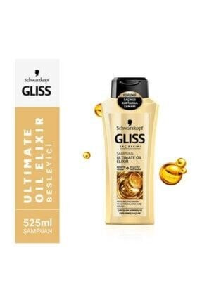 Gliss Şampuan Ultimate Oil Elixir 525 ml 8690572789513