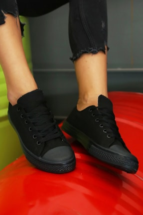 Ayakkabı Modası Kadın Siyah Ayakkabı M9999-19-100165R