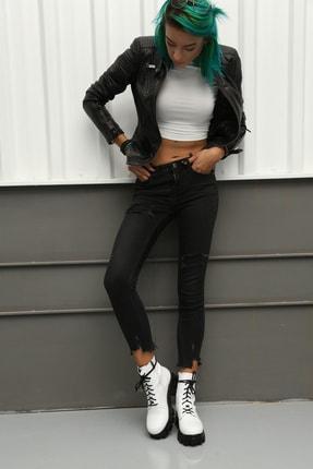 Ayakkabı Modası Kadın Beyaz Bot