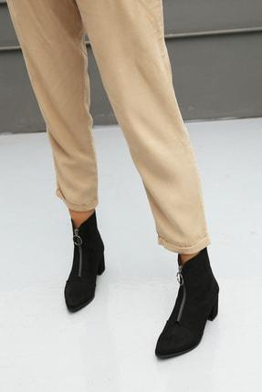 Ayakkabı Modası Kadın Siyah Sivri Burun Bot