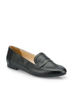 Polaris 315091.Z Siyah Kadın Loafer Ayakkabı 100507070