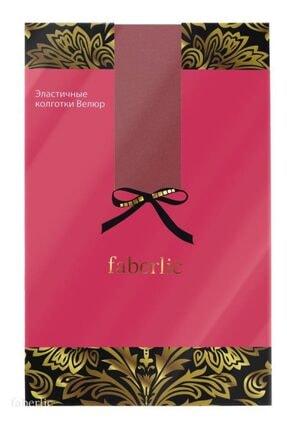 Faberlic Bordo Renkli Külotlu Çorap S 80077