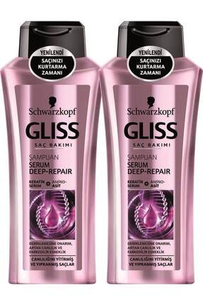 Gliss Serum Deep Repair Şampuan 360 Ml X 2 Adet