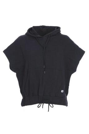 Sportive Swecropwom Kadın Siyah Koşu Sweatshirt 710727-syh