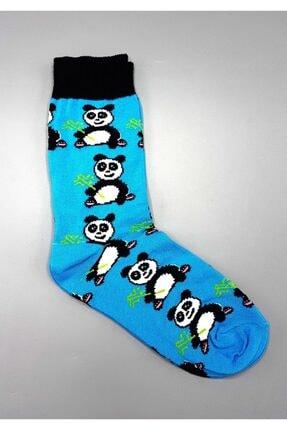Köstebek Unisex Panda Desenli Çorap