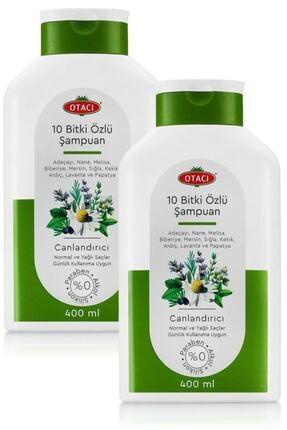 Otacı On Bitki Özlü Canlandırıcı Şampuan 400 Ml -2'li Ürün Ln-0069+2