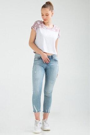 Speedlife Kadın Beyaz Kısa Kol Tshirt