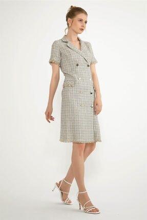 Chima Püskül Detaylı Elbise