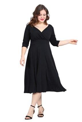 ANGELINO Kadın Siyah Abiye Elbise KL8003