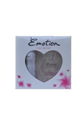 Emotion Pink Secret Edt 50 ml Kadın Parfüm + Deodorant Seti  YB8697926087539