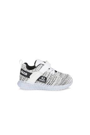 Vicco Alfa Unisex Bebe Beyaz Spor Ayakkabı