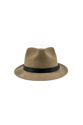 Goorin Bros Unisex Kahverengi Şeritli Şapka