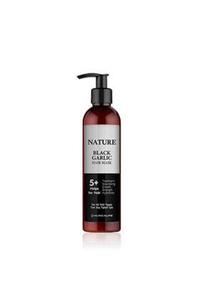 Hunca Nature Siyah Sarımsaklı Saç Maskesi 250 ml