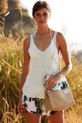 PENYE MOOD Kadın Renklı Plaj Şort Takım P218YPJ00031