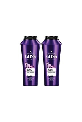 Gliss Intense Therapy Şampuan 500 ml X 2 Adet