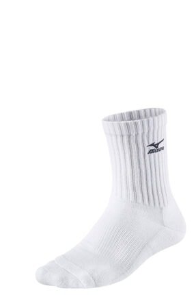 Mizuno Volley Socks Medium Unisex Çorap Beyaz