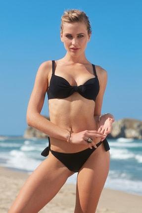 No Gossip Dolgulu Bikini Tek Üst 209101 Siyah
