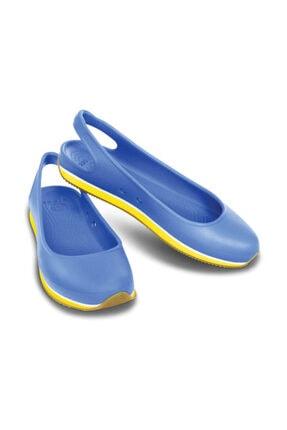 Crocs Retro Slıngback Flat Wome Mavi Kadın Sandalet