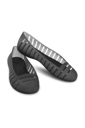 Crocs Adrına Flat Iı Black-blac Kadın Siyah Babet