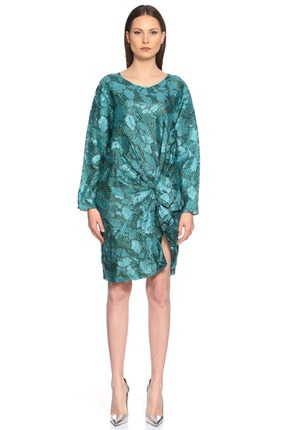 Lanvin Turkuaz Elbise