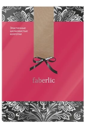 Faberlic Ten Rengi Parmuklu Esnek Külotlu Çorap M 80022