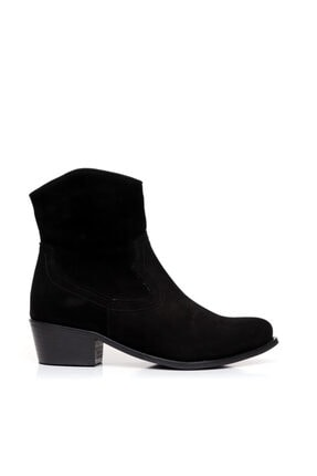 Bueno Shoes Timsah Desenli Hakiki Deri Kadın Topuklu Bot 9p7201