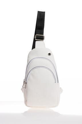 Sergio Giorgianni Luxury Sg2112 Beyaz Kadın Sırt Çantası