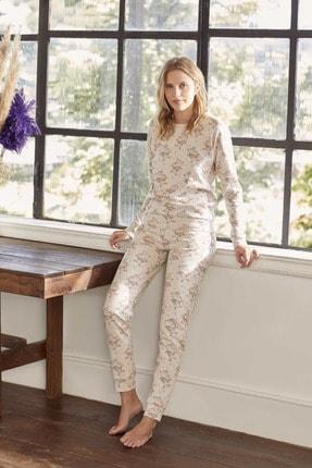 Eros Esk27550 Pamuklu Uzun Kollu Kadın Pijama Takımı