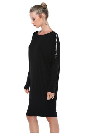 Quincey Geniş Kesim Elbise