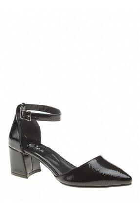 Derigo Siyah Rugan Kadın Sandalet 39138