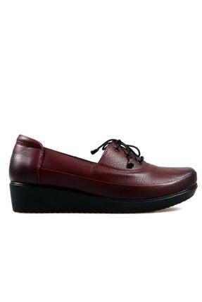 Hammer Jack Bordo Kadın Ayakkabı 169 O10-z