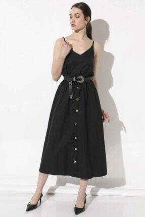 Arma Life Ip Askılı Elbise - Siyah