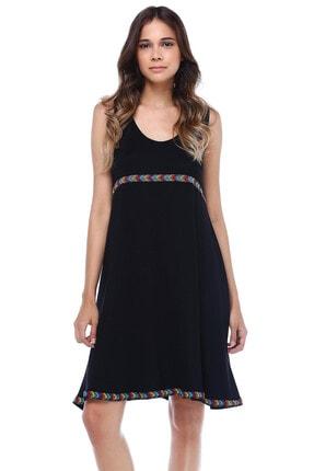 Quincey Roba Ve Etek Ucu Biyeli Elbise
