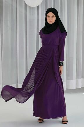 Sitare Pliseli Elbise 20ymdbel5196