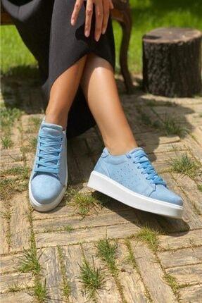 İnan Ayakkabı Suni Deri Kadın Spor Ayakkabı