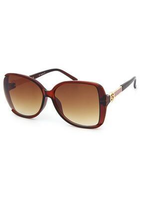 Di Caprio Kadın Kahverengi Güneş Gözlüğü Dc1743b