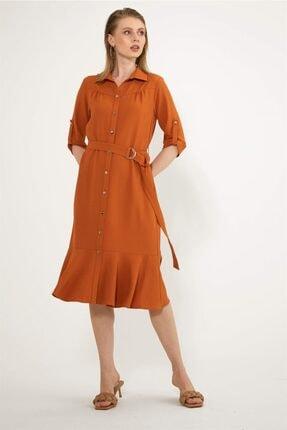 Chima Robası Büzgülü Elbise