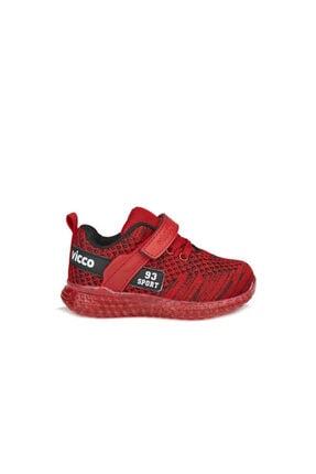 Vicco Alfa Unisex Bebe Kırmızı Spor Ayakkabı