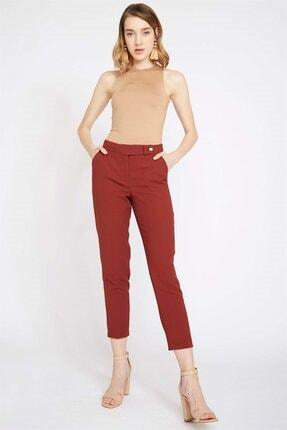 Chima Kadın Turuncu Kemeri Dilli Pantolon
