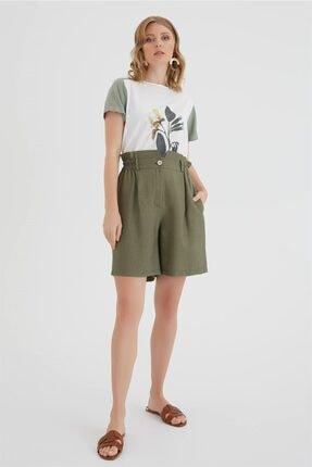 Chima Lastikli Şort Pantolon